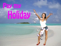 Pay my holiday 50 €