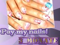 Pay my nails- für 3 Monate