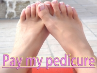 Pay my pedicure