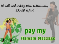 pay my Hamam Massage