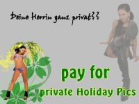 pay for private holiday pics